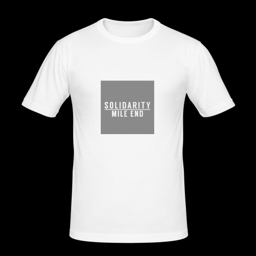 MILE END - Men's Slim Fit T-Shirt