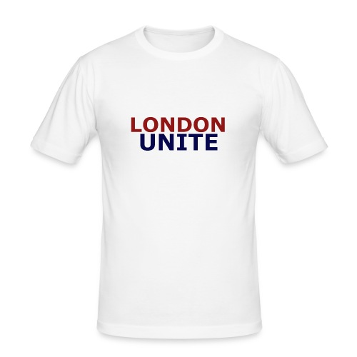 London Unite White T-Shirt - Men's Slim Fit T-Shirt