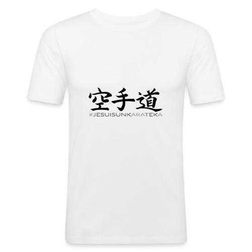 # Je suis un karateka - T-shirt près du corps Homme