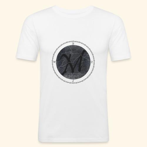 Montis logo2 - Slim Fit T-shirt herr