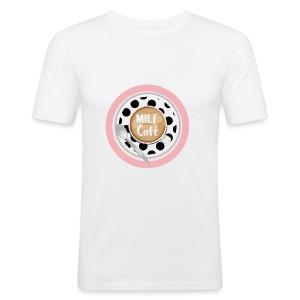 Milfcafé - MILF Logo Instagram Blogger Musthave - Männer Slim Fit T-Shirt