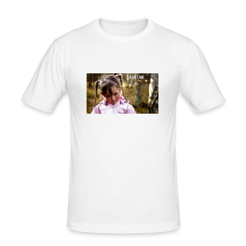Lille Lise Picture - Men's Slim Fit T-Shirt