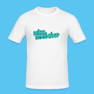 MissNoobster - Männer Slim Fit T-Shirt