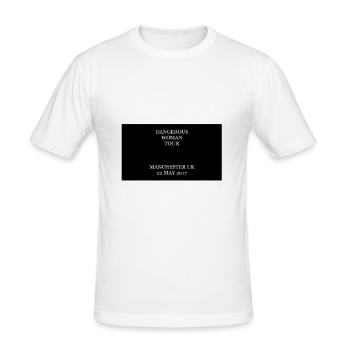 Dangerous Woman Tour Merch - Men's Slim Fit T-Shirt