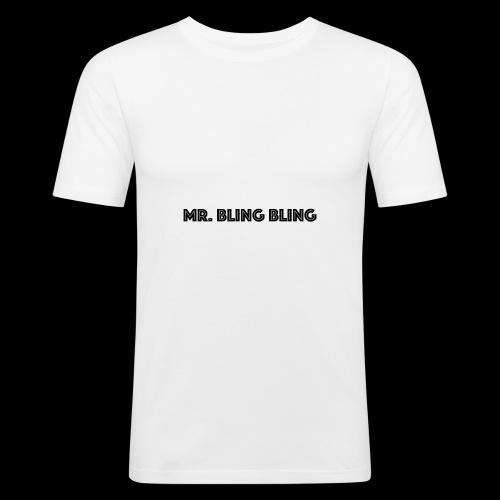 bling bling - Männer Slim Fit T-Shirt