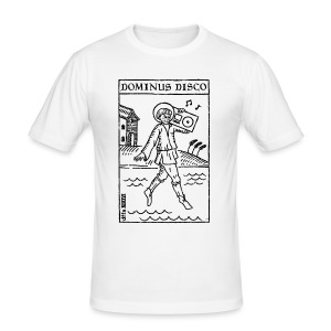 Dominus Disco - Männer Slim Fit T-Shirt