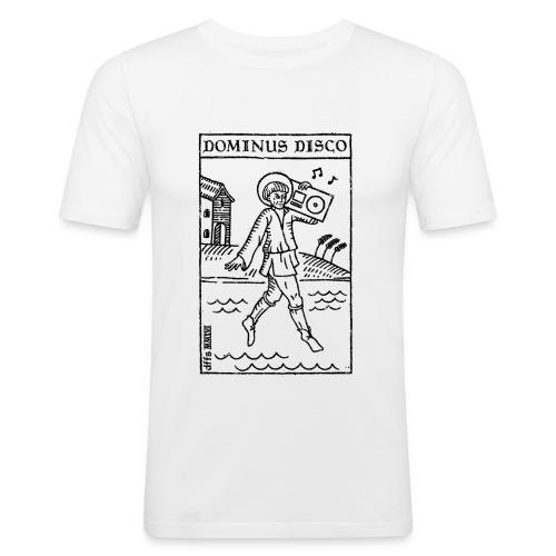 Dominus Disco - Männer Slim Fit T-Shirt