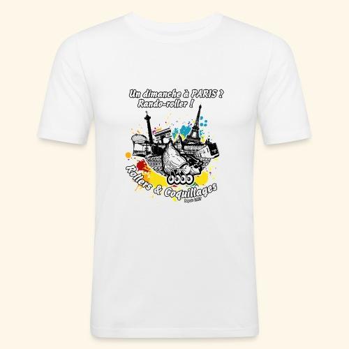 Splash - T-shirt près du corps Homme