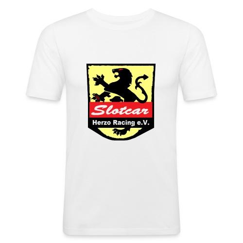 HR Logo Schwarz (für alle Hintergründe) - Männer Slim Fit T-Shirt