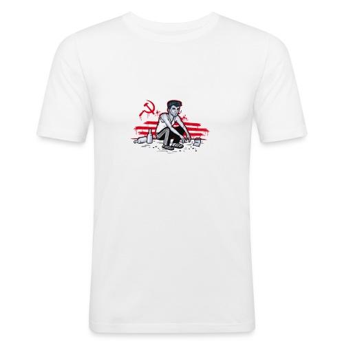 Soviet Gopnik - Männer Slim Fit T-Shirt