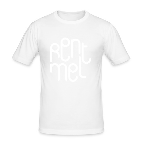Rent mel - Slim Fit T-skjorte for menn