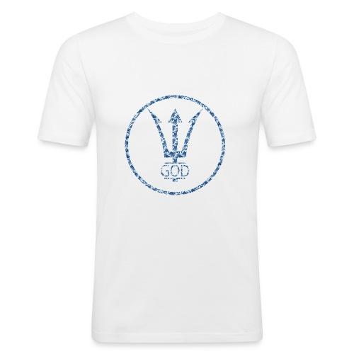 HAWAII GOD CLOTHING SUPPLY LOGO BASIC SHIRT - Männer Slim Fit T-Shirt