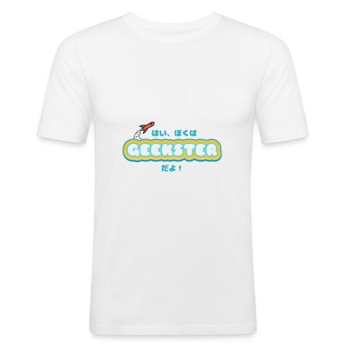 Hai, boku wa Geekster da yo! - slim fit T-shirt