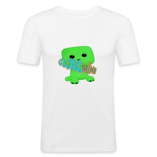GlobalMine Creeper - Maglietta aderente da uomo