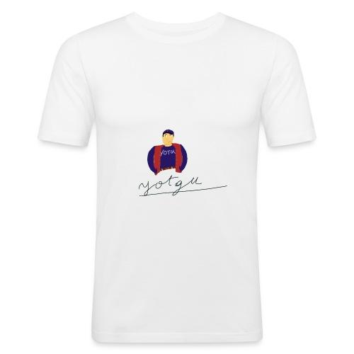 yotgu - T-shirt près du corps Homme