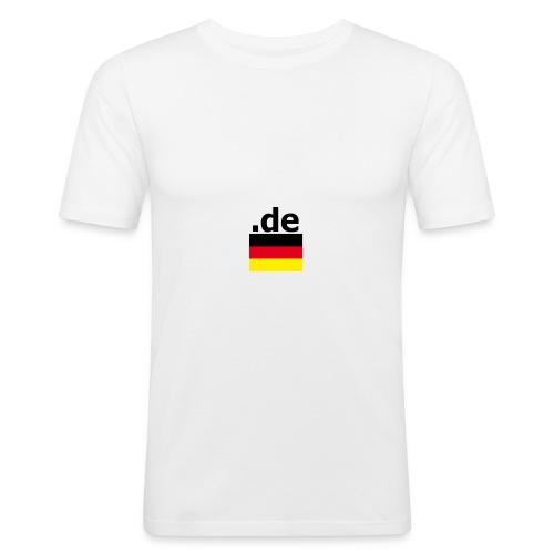 .de Deutschland Fußball T-shirt - Männer Slim Fit T-Shirt