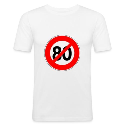 Non - 80km/h - T-shirt près du corps Homme