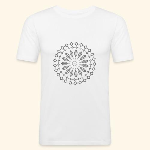 Mandala, Glück, Harmonie - Männer Slim Fit T-Shirt
