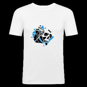 Official Logo Of The Hooded Gamer - Men's Slim Fit T-Shirt