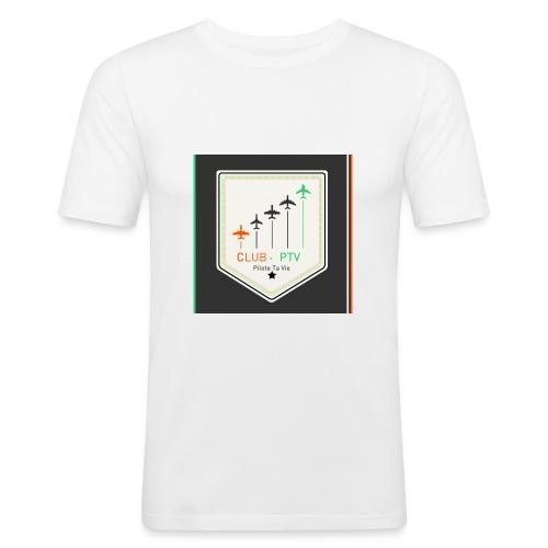 Club Pilote Ta Vie - T-shirt près du corps Homme