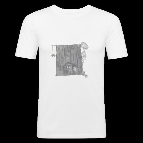 greyhouse - Männer Slim Fit T-Shirt
