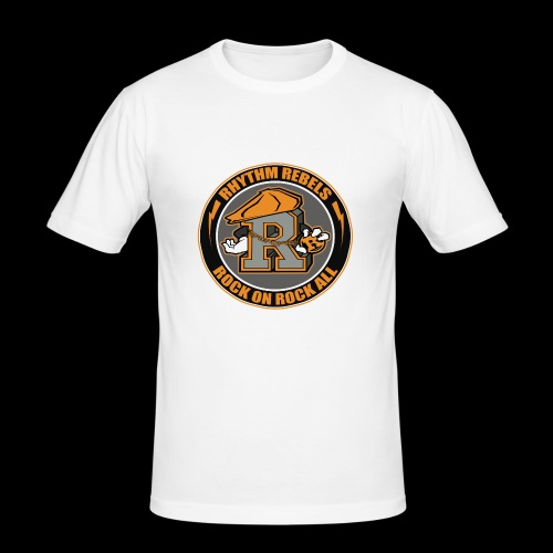 ROCK ON ROCK ALL - Men's Slim Fit T-Shirt