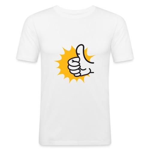 logo-jpg - Maglietta aderente da uomo