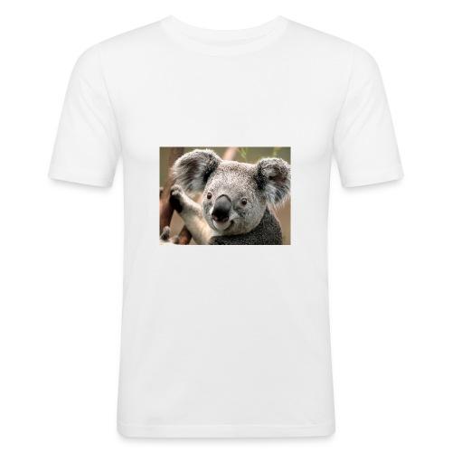 Koala - Männer Slim Fit T-Shirt