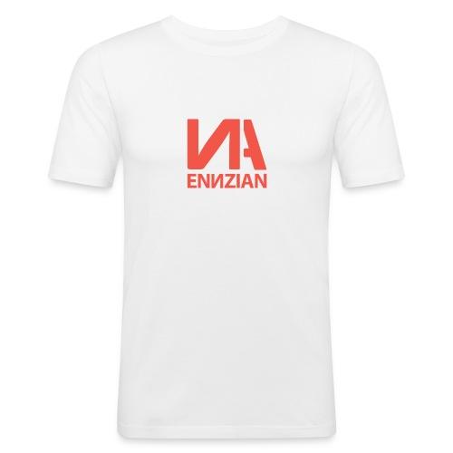 Logo & Schriftzug - Männer Slim Fit T-Shirt