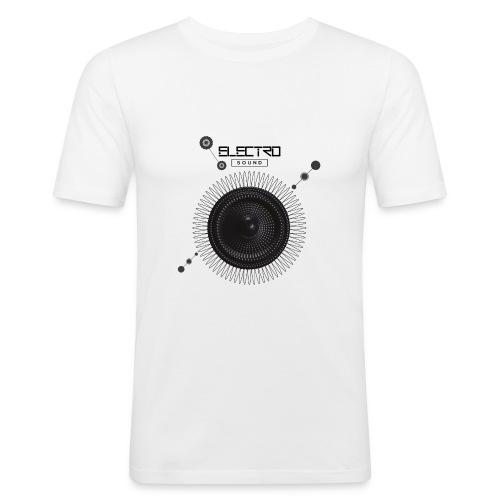 Electro Sound - Maglietta aderente da uomo