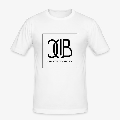 Chantal Vd Biezen Fan Artikel (Logo-Schwarz) - Männer Slim Fit T-Shirt