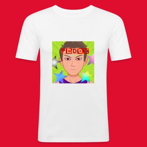 PeDox Avatar Merch Jungs und Mädchen - Männer Slim Fit T-Shirt