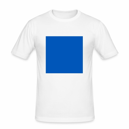 Blue - Slim Fit T-shirt herr