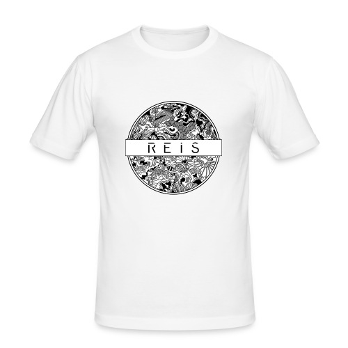 R E I S - Männer Slim Fit T-Shirt