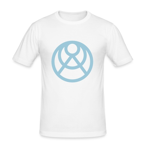 Faråkra symbol blå - Slim Fit T-shirt herr