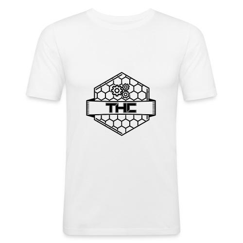 THCDev - Logo - Männer Slim Fit T-Shirt