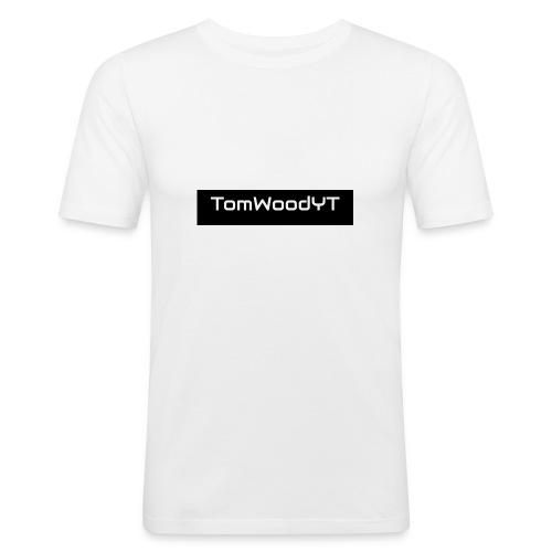 TomWoodYTMerch - Men's Slim Fit T-Shirt