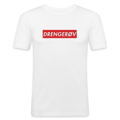 Drengerøv Box Logo Trøje - Herre Slim Fit T-Shirt
