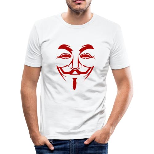 Anonym - Männer Slim Fit T-Shirt