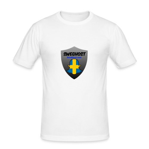 Sweghost t-shirt - Slim Fit T-shirt herr