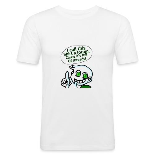 10/10 no puns intended - Men's Slim Fit T-Shirt