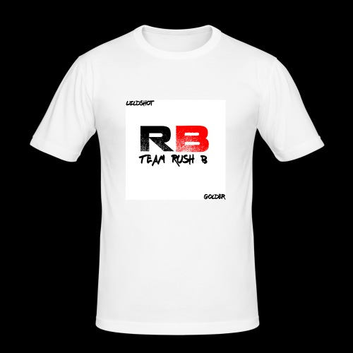 trb logo wildshot - Men's Slim Fit T-Shirt