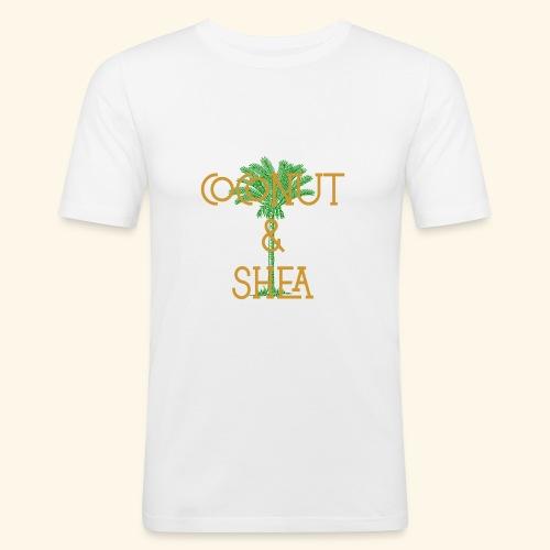 Coconut & Shea - Men's Slim Fit T-Shirt