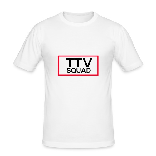 TTVSquad - Männer Slim Fit T-Shirt