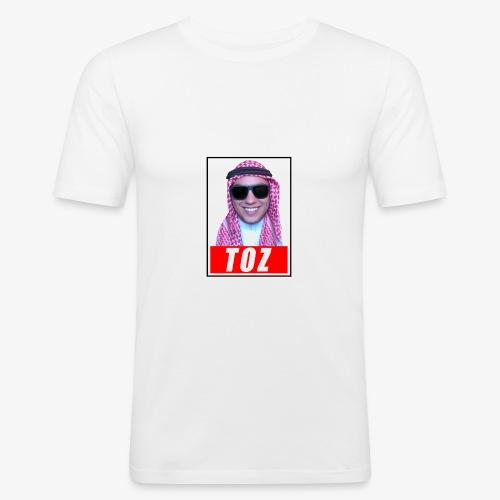 TozQatar - T-shirt près du corps Homme