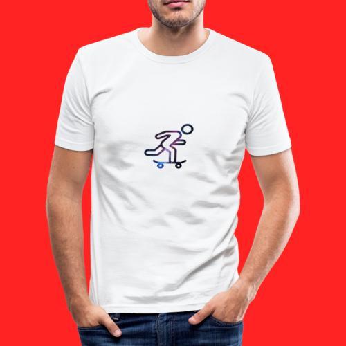 galaxy skate - T-shirt près du corps Homme