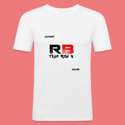 trb logo wildshot - Men's Slim Fit T-Shirt