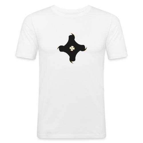 AnanasMC Premium Logo - Männer Slim Fit T-Shirt