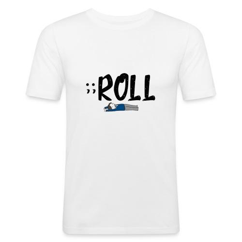 ;;ROLL - slim fit T-shirt