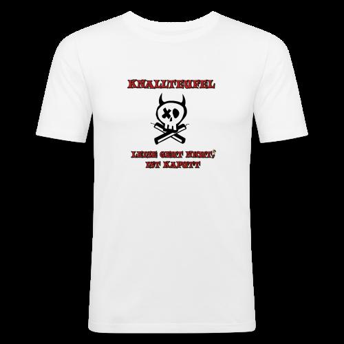 Knallteufel - Männer Slim Fit T-Shirt